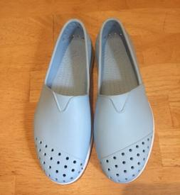 verona womens slip on shoes baby blue