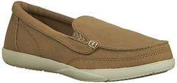 Crocs Women's Walu II Khaki/Stucco Ankle-High Canvas Flat Sh