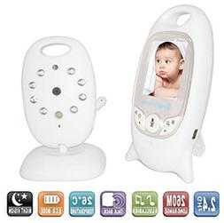 ZTHY 2.4GHz Wireless Digital LCD Color Baby Monitor Camera A