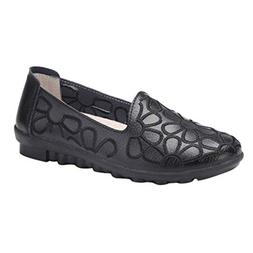 Kiminana Woman's Fashion Embroidery Slip-On Loafers Shoes So