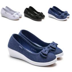 Women's Casual Slip On Leather shoes Moccasins Comfort Drivi