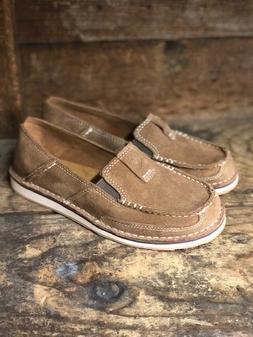 Ariat Women's Chestnut Suede Cruiser Shoes 10027358