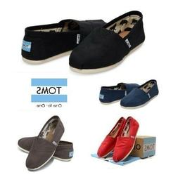TOMS Women's Classic Canvas Slip Flats Shoes US Sizes Authen