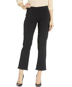 HUE Women's Crochet Hem Loafer Skimmer Pants sz 2XL XX-Large