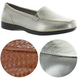 Easy Spirit Women's Devitt Slip On Flat Loafer