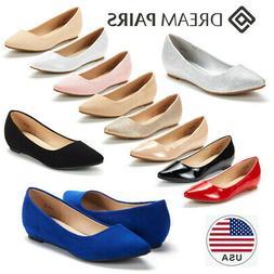 DREAM PAIRS NEW Women's Ballerina Ballet Flat Shoes Slip On