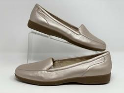 Easy Spirit Women's Loafers Flats Shoes sz 9 Bronze Taupe Se