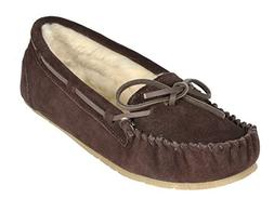 DREAM PAIRS Women's Shozie-01 Brown Faux Fur Slippers Loafer