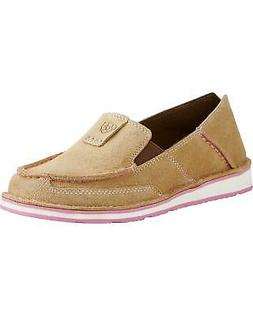 Ariat Women's Taupe Cruiser Shoes - Moc Toe - 10019889
