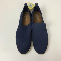 Women's Toms Deconstructed Alpargata Cadet Blue Suede Loafer