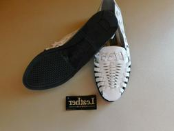 Women's White Sandle Shoes Size 6 New Prediction Casual Flat