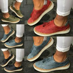 Women Tassel Flat Loafers Ladies Mesh Breathable Comfort Cas