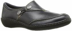 Clarks Womens Ashland Lane Q Leather Closed Toe Loafers, Nav