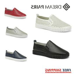 DREAM PAIRS Women's Breathable Sneaker Slip On Loafers Com