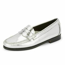 WOW! New RE/DONE Levis X Weejuns silver loafers size 5 $325