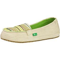 Sanuk Womens Zu Zu Sidewalk Surfers Footwear Size 07 Natural